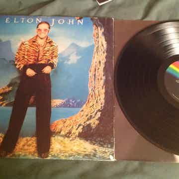 Elton John  Caribou MCA Records Rainbow Label