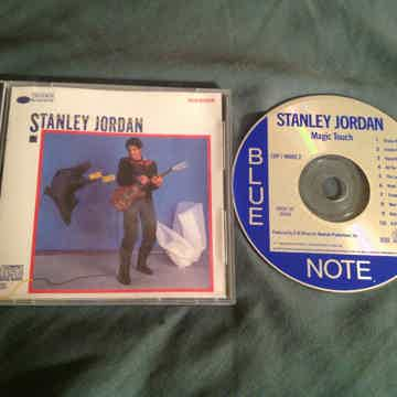 Stanley Jordan  Magic Touch Blue Note Records Japan Com...