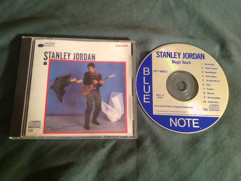 Stanley Jordan  Magic Touch Blue Note Records Japan Compact Disc