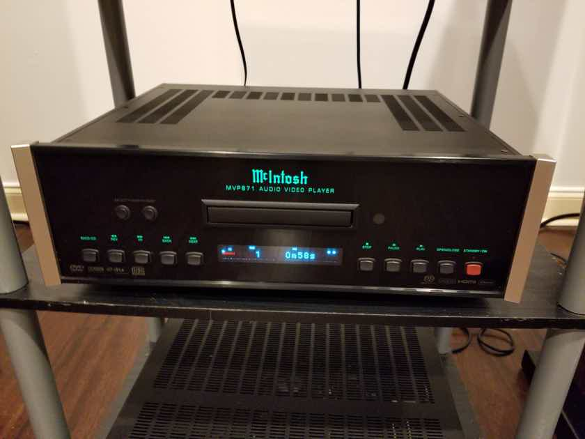 McIntosh MVP-871 MANUAL , CORD , BOX INCLUDED - Brand New remote ordered.