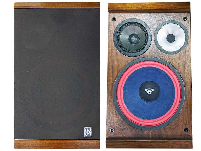 Cerwin Vega S1 3-Way Bookshelf Speakers (Walnut): EXCELLENT Trade-In; 30-day Wrnty