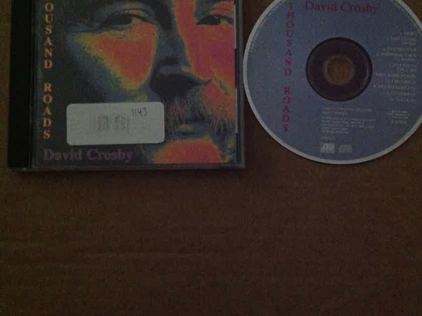 David Crosby - Thousand Roads Atlantic Records Compact Disc
