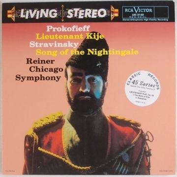 Reinier Chicago Symphony PROKOFIEFF: Lietenant Kiji  RCA Living Stereo