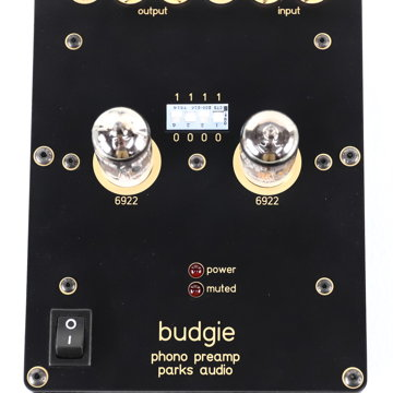 Parks Audio Budgie MM Tube Phono Preamplifier