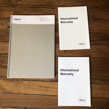 Manuals and warranty