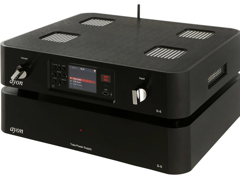 Ayon Audio S-5 XS - Product of The Year! Amazing!