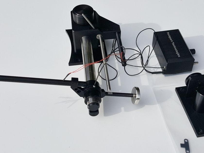Rockport Technologies 6000 air bearing, linear tracking tonearm