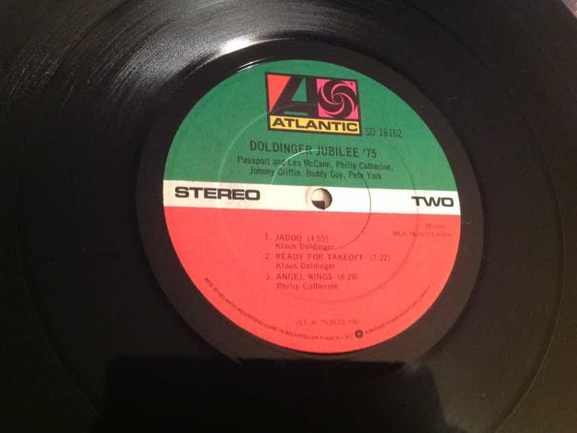 Various Atlantic Records Promo Suggested Cuts Sticker  Doldinger '75