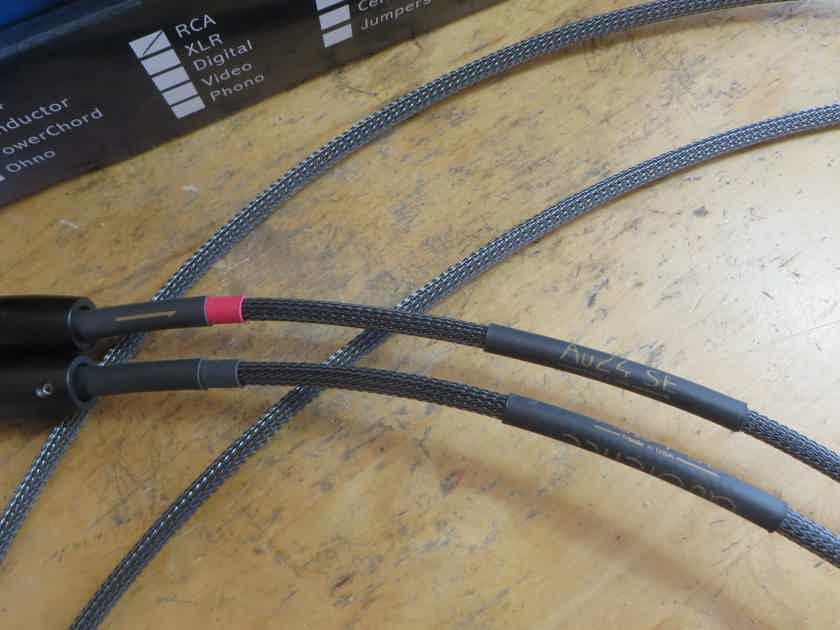 Audience  AU24 SE 1.5m RCA interconnects