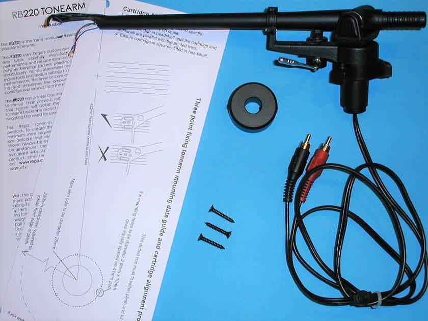 Rega/Moth OEM RB220 Tonearm