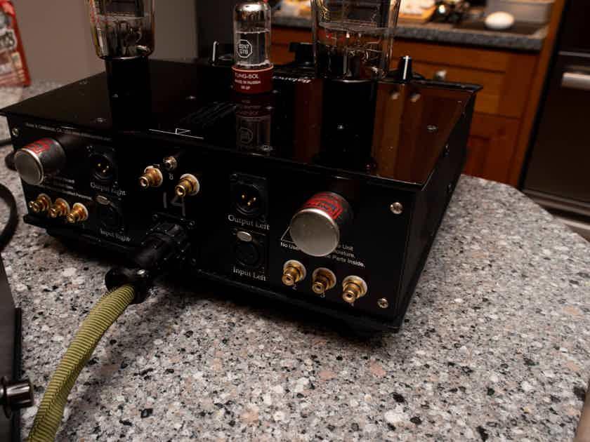 Eddie Current Balancing Act Tube Headphone Amplifier
