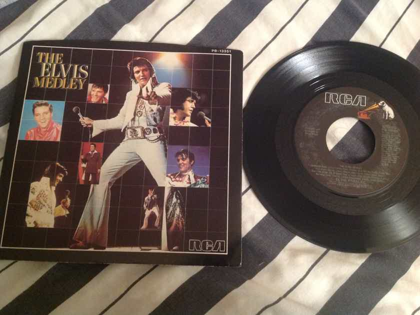 Elvis Presley The Elvis Medley/Always On My Mind 45 With Picture Sleeve
