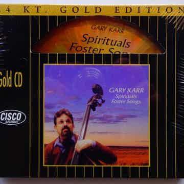 Gary Karr Spirituals Foster Songs  24 Kt. Gold Edition