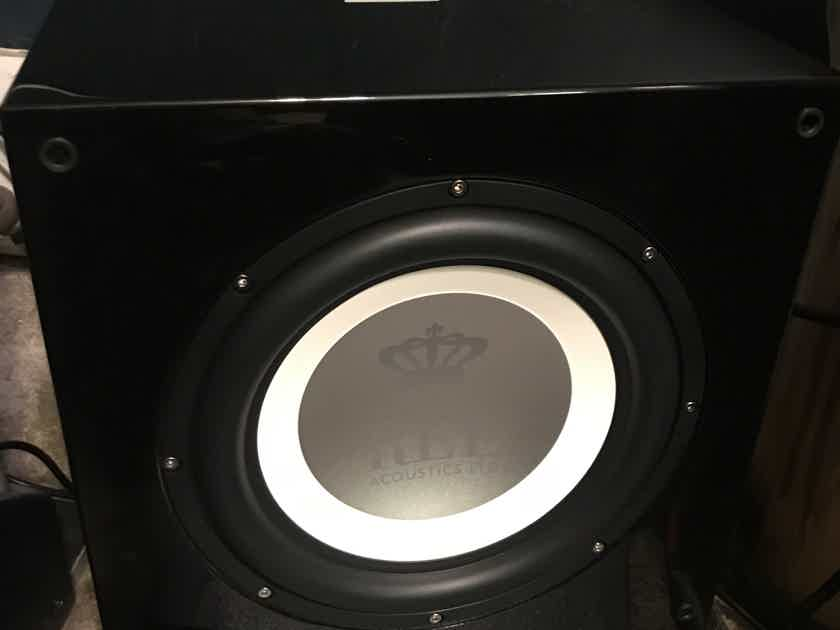 "REL T9i 10"" Subwoofer - Like New Condition"