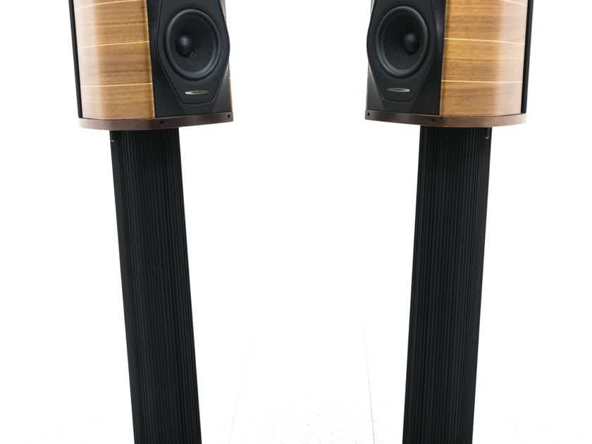 Sonus Faber Olympica I Floorstanding Speakers; Wood Pair w/ Olympica Stands (20021)