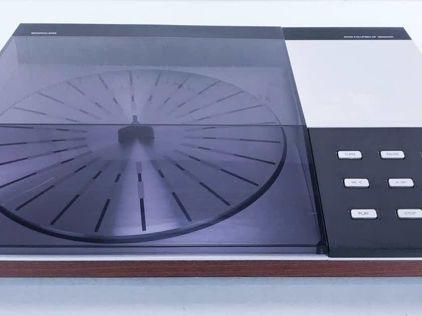 B&O Beogram 8002 Turntable; MMC3 Cartridge Rosewood; AS-IS (Playback Issue) (14859)