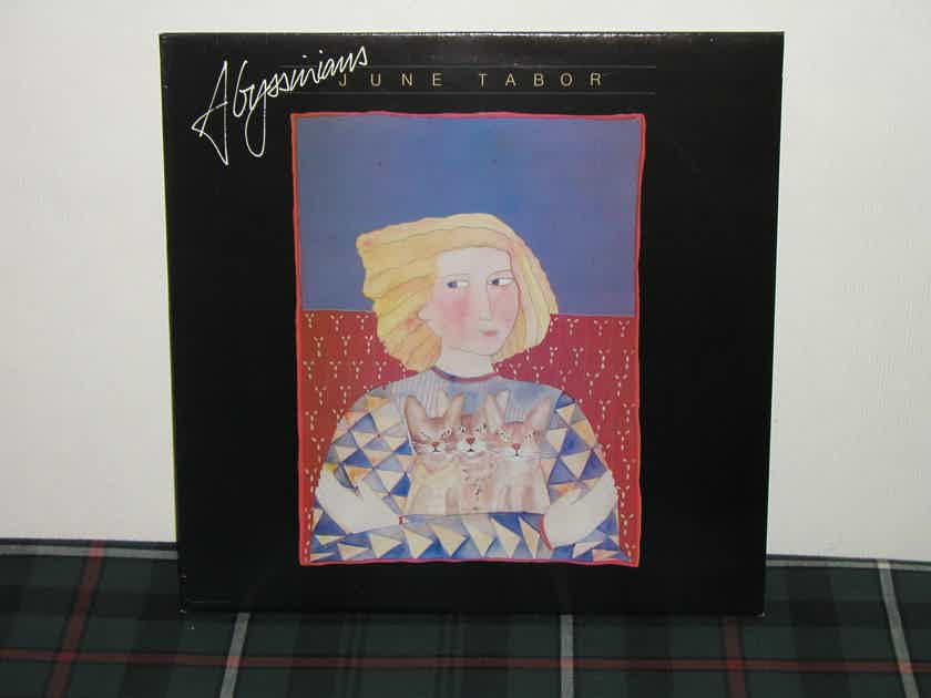 "June Tabor    ""Abyssinians"" - UK (English) Import/ Topic Records UK Topic 12TS432"