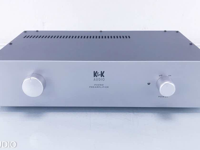 K&K Audio Maxxed-Out MM Phono Preamplifier Factory Built w/ Upgrades (13051)