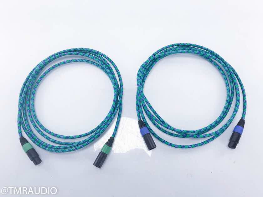 Acrotec 6N-A2030 XLR Cables 3.5m Pair Balanced Interconnects (13324 ...
