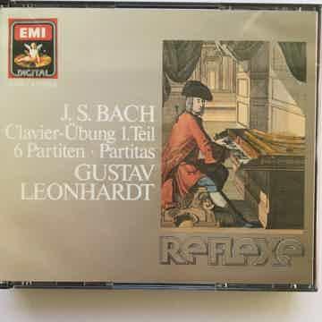 Clavier Ubung 1 Teil 6 Partiten Partitas Cd set EMI 1987