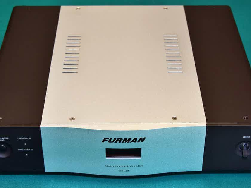 FURMAN SOUND SPR-20i STABLE POWER VOLTAGE REGULATOR-POWER CONDITIONER