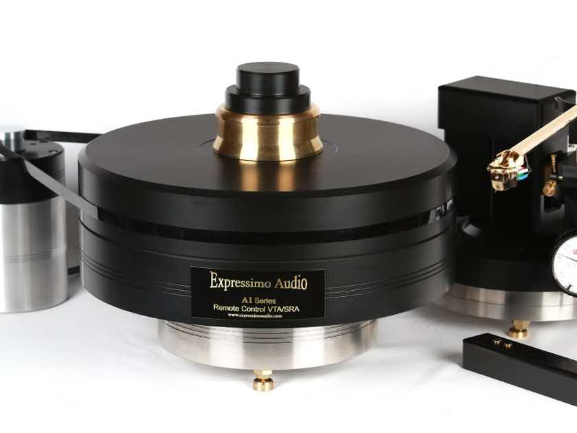 ANALOGUE ARTISAN,  A1 SERIES Remote Control VTA /SRA Arm Pod TURNTABLE, The NEW YEAR IS COMING