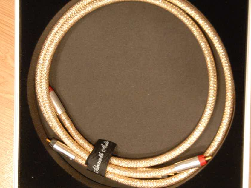 Silversmith Audio PALLADIUM 3 ft RCA Interconnect cables