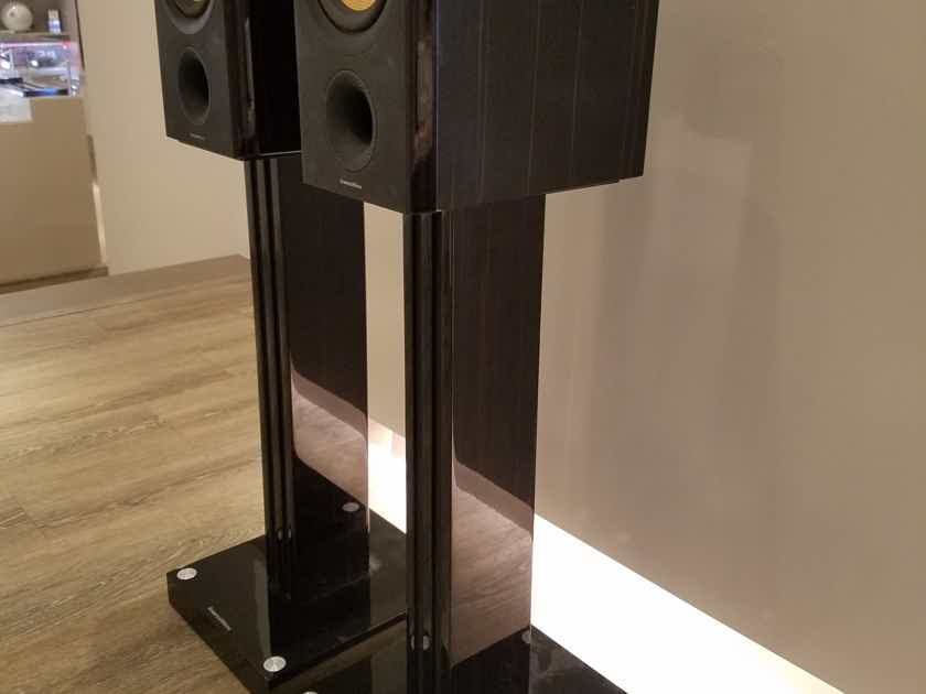 Bowers & Wilkin PM1 Speakers with Stands