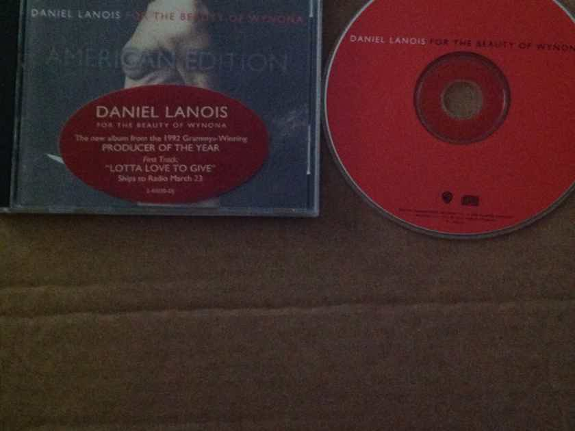 Daniel Lanois - For The Beauty Of Wynona Warner Brothers American Edition With Hyper Sticker CD