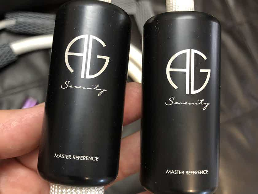 Argento Audio Serenity Master Referenced Interconnects 1.5 Meter RCA / RCA