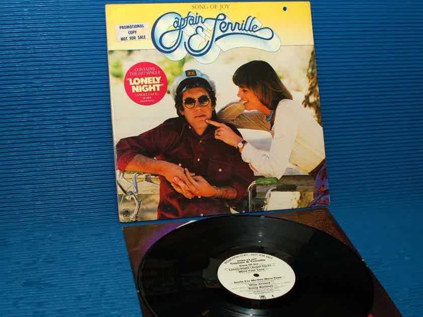 """CAPTAIN & TENNILLE  - """"Song of Joy"""" -  A&M WLP Promo 1976"""