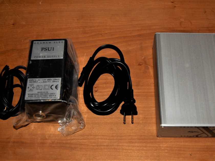 Graham Slee Reflex M with PSU1 upgraded power supply