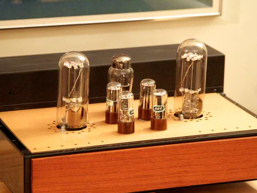Custom made 211 amp Single Ended Triode SET 17wpc