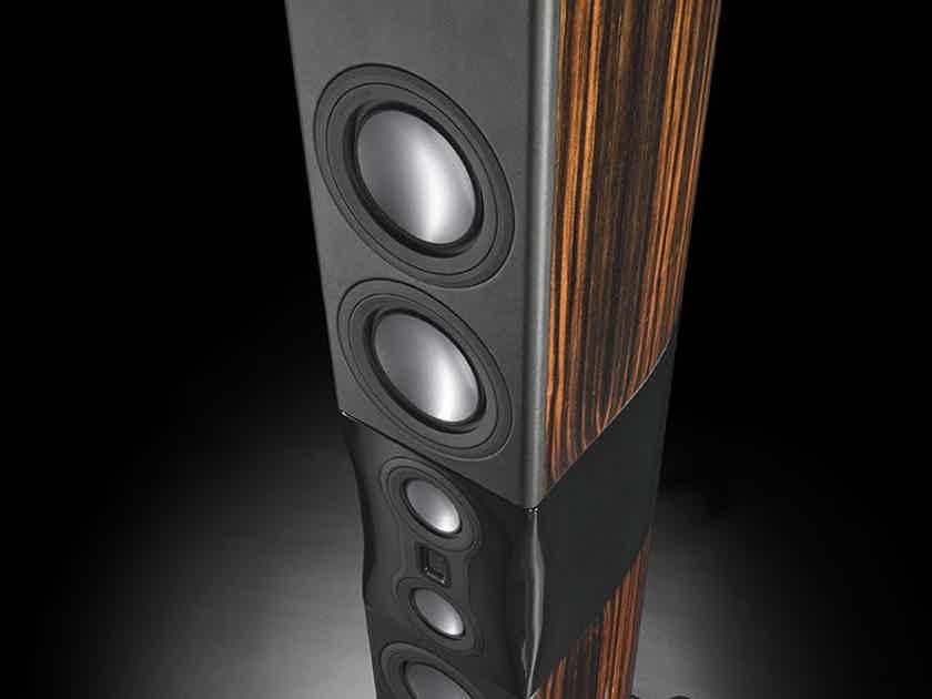 Monitor Audio Platinum PL500-II Floorstanding Speakers (Ebony); Open Box/Demo; 20% Off; Call for Info