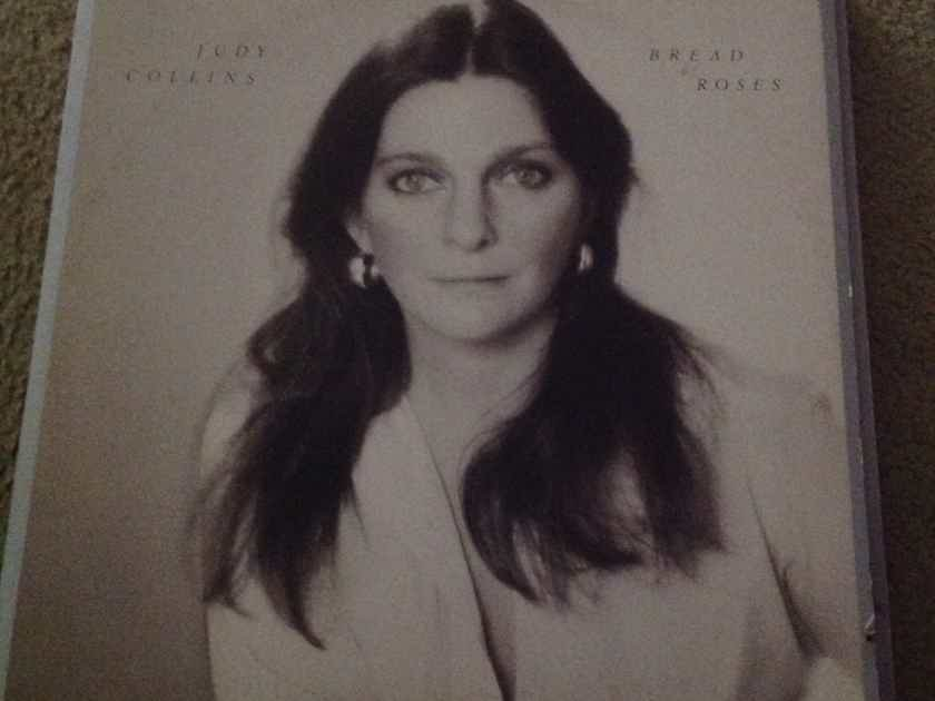 Judy Collins - Bread & Roses Red Elektra Records Label Vinyl LP  NM