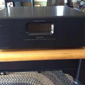 Signature Series 5 Channel Amplifier