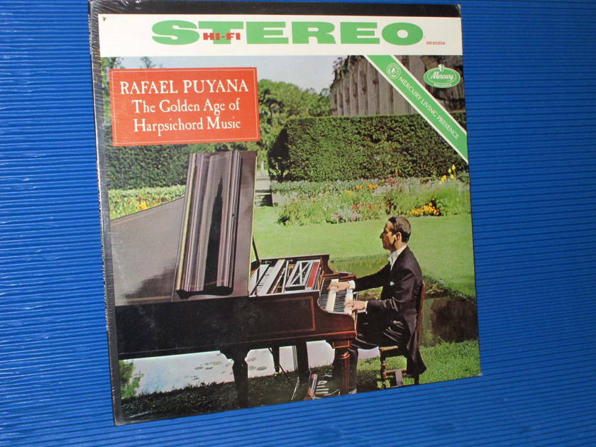 "RAFAEL PUYANA   - ""The Golden Age of Harpsichord Music"" - Mercury Living Presence 1962 TAS List SEALED"