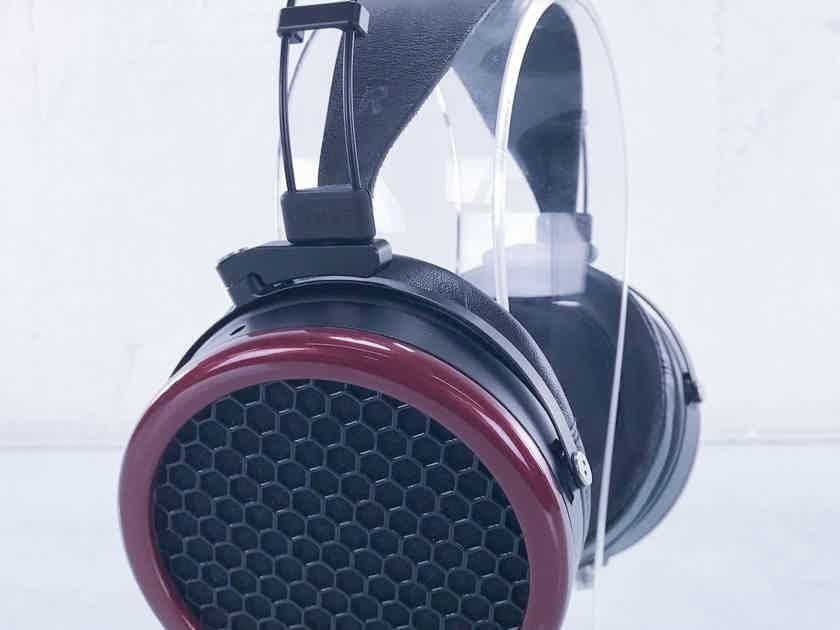 MrSpeakers Ether Open Back Planar Magnetic Headphones 4-Pin XLR: VOCE Ear Pads (15472)
