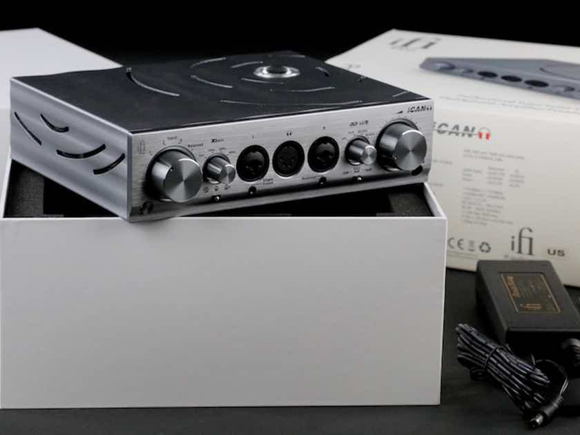 iFi  Pro ICan Headphone & Linestage Amp  Pristine Condition!