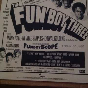 The Fun Boy Three - FB3 Chrysalis Records Promo Stamp F...