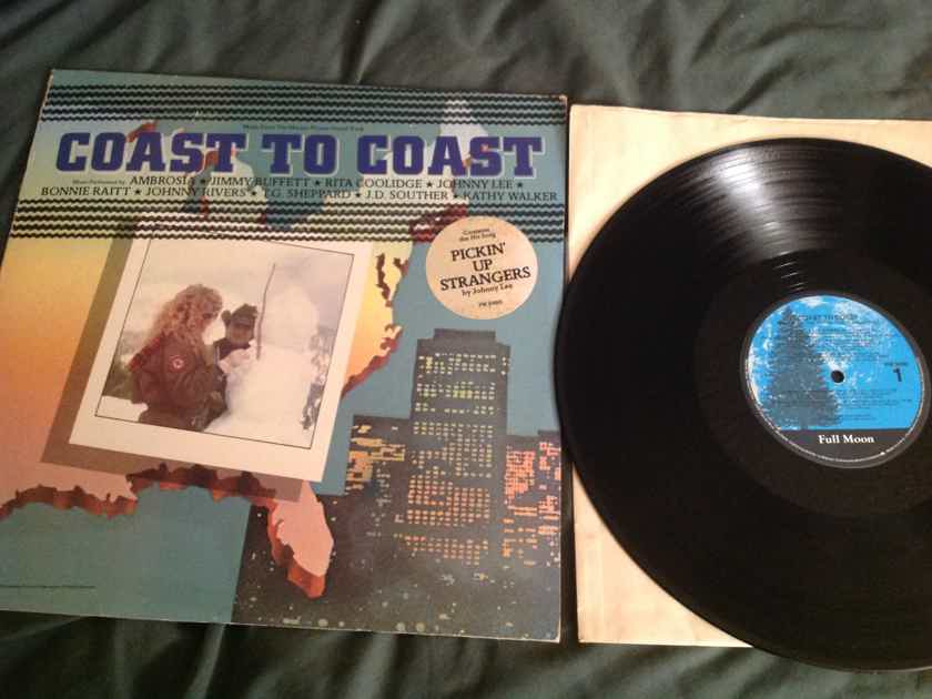 Jimmy Buffet Rita Coolidge  Coast To Coast Soundtrack Hyper Sticker