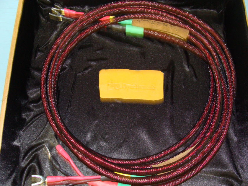 Physic Harmonic Superb Speaker Cable 2 Meter- All Spades