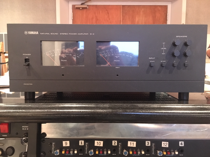 yamaha b 2 v fet amplifier solid state audiogon