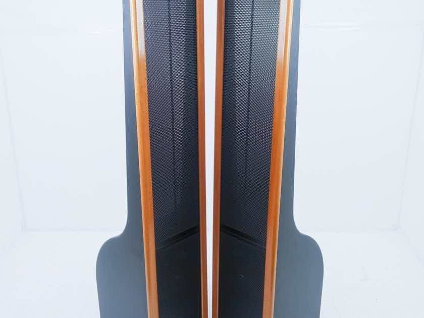 InnerSound Isis Electrostatic Hybrid Floorstanding Speakers Cherry Trim Pair (15231)