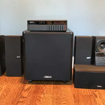 Meridian 561 entire system