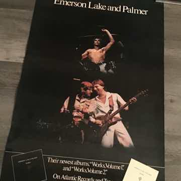 Emerson Lake And Palmer Works Vol 1 & 2 Promo Poster