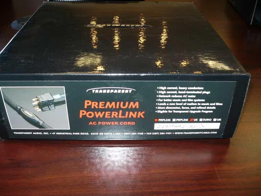 Transparent Audio Premium PowerLink MM2   2.0 Meter Power cable