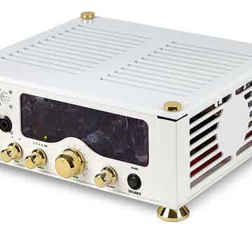 Audio Valve Solaris in White/Gold finish