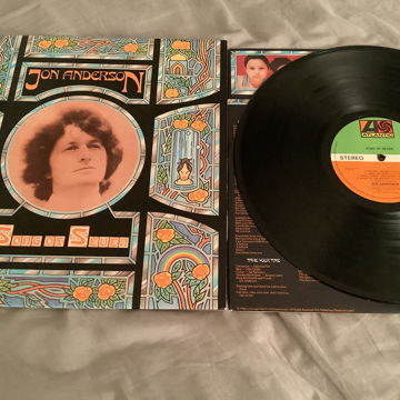 Jon Anderson Atlantic Records UK Stampers A1/B1 Song Of Seven