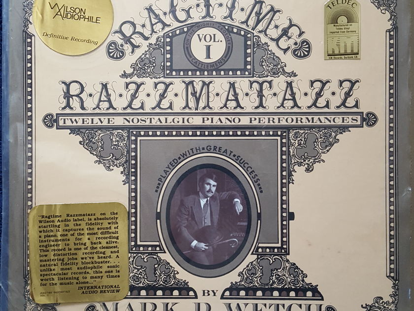 HARRY PEARSONS PRIVATE COLLECTION  - WILSON AUDIPHILE RAGTIME RAZZMATAZZ COMBO VOLUME 1&2 VOLUME 2 IS *SEALED>